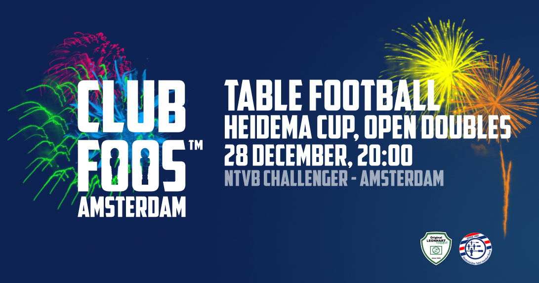 ANDRE HEIDEMA CUP, OPEN DOUBLES  AMSTERDAM