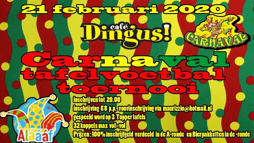 Dingus Carnaval Toernooi