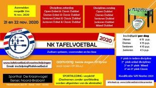 NK 2020 - 21 en 22 november in Eersel!