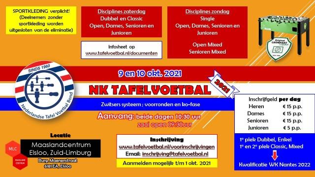 Nederlandse Kampioenschappen 2021!