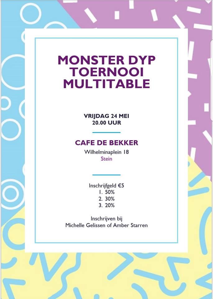Vrijdag 24 mei - Monster DYP toernooi