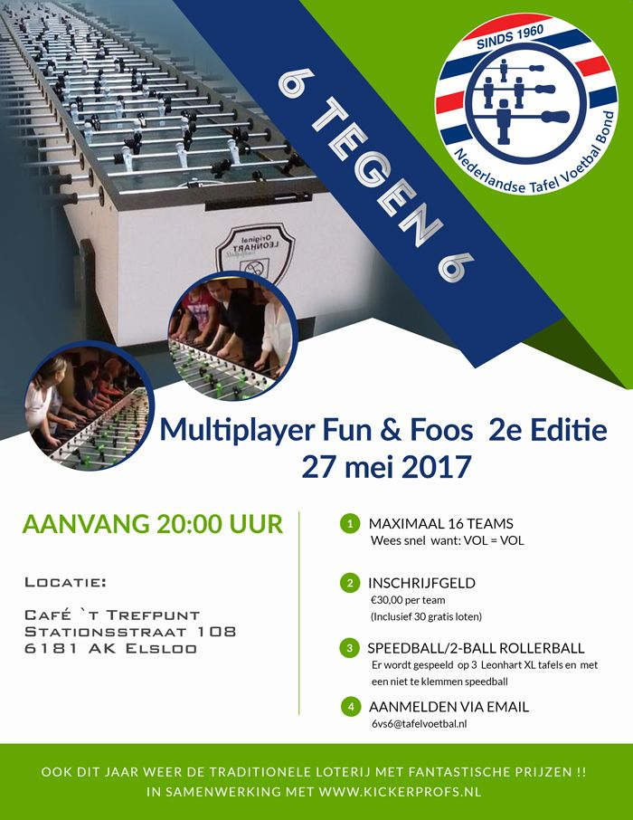 Multiplayer Fun & Foos 2e Editie